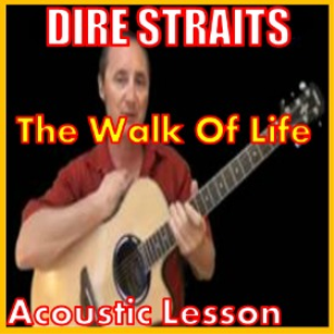 learn to play walk of life by dire straits