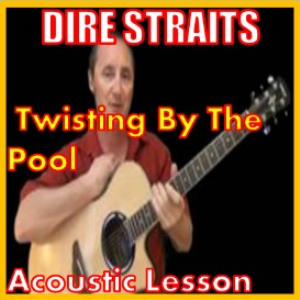 learn to play twisting by the pool by dire straits