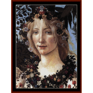Primavera II - Botticelli cross stitch pattern by Cross Stitch Collectibles | Crafting | Cross-Stitch | Wall Hangings