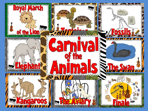 carnival of the animals bulletin board