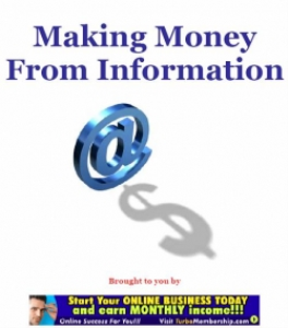 making money from information