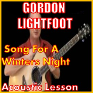 Learn to play Song For A Winters Night by Gordon Lightfoot (kproducts) | Movies and Videos | Educational