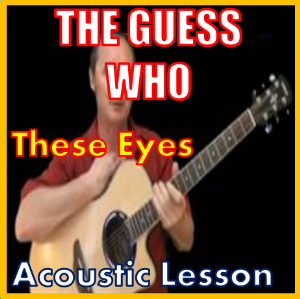 learn to play these eyes by the guess who
