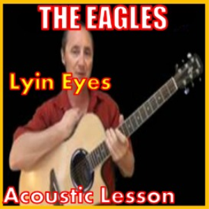 learn to play lyin eyes by the eagles