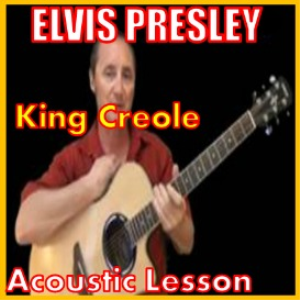 learn to play king creole by elvis presley
