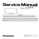 Panasonic TX-P42C3B TV Original Service Manual and Repair Guide | Crafting | Paper Crafting | Paper Models