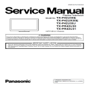 Panasonic TX-P42U30E P42U30J P42UX30E TV Original Service Manual and Repair Guide | eBooks | Technical
