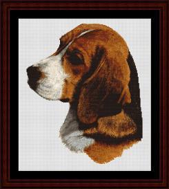 Beagle - Robert J. May cross stitch pattern by Cross Stitch Collectibles | Crafting | Cross-Stitch | Wall Hangings