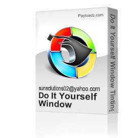 Window Tinting Video & 7-Step Window Tinting Business Success Manual | Movies and Videos | Educational