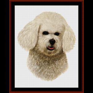 Bichon - Robert J. May cross stitch pattern by Cross Stitch Collectibles | Crafting | Cross-Stitch | Wall Hangings