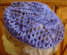 Lace Doily Beret e-Pattern | Other Files | Arts and Crafts