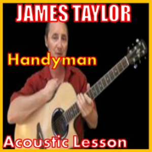 learn to play handyman by james taylor
