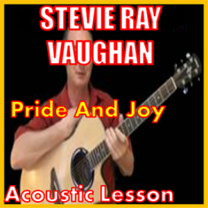 learn to play pride and joy by stevie ray vaughan