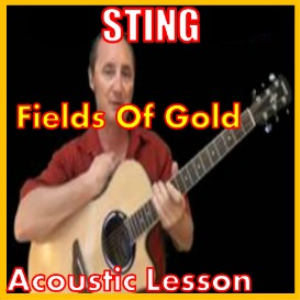 learn to play fields of gold by sting