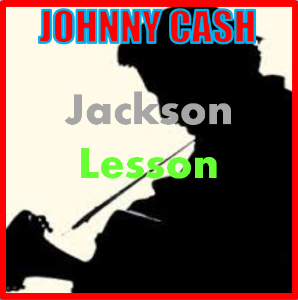 learn to play jackson by johnny cash