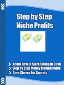 Step By Step Niche Profits | eBooks | Business and Money