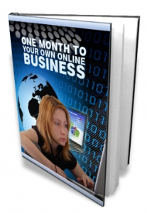 One Month To Your Own Online Business   eBooks   Internet