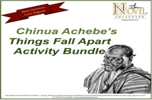 Things Fall Apart Activity Bundle | Software | Business | Other