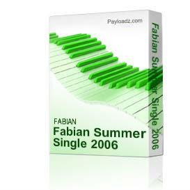 Fabian Summer Single | Music | Dance and Techno
