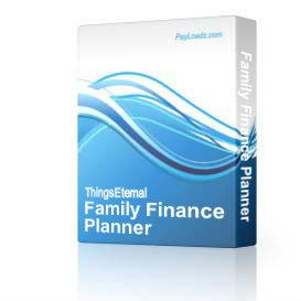 Family Finance Planner | Software | Home and Desktop