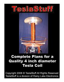 tesla coil complete plans with 90 color pictures