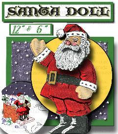 Sew a VINTAGE SANTA! 1940's Vintage Pattern | eBooks | Arts and Crafts
