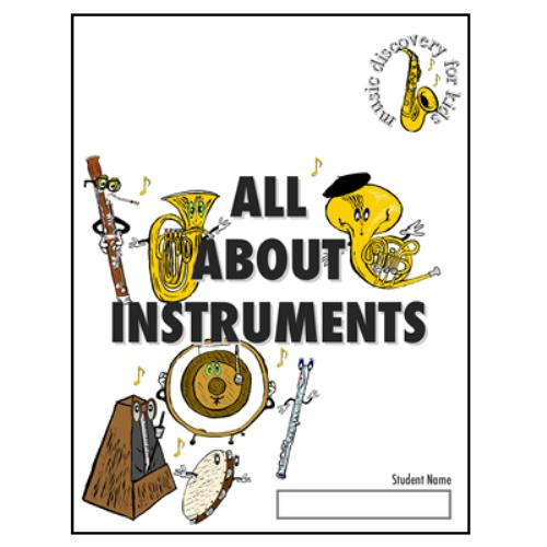 First Additional product image for - All About Instruments (Music Discovery for Kids)