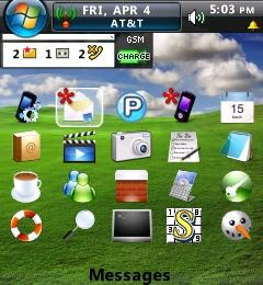 Vista Theme - BlackBerry Pearl | Software | Mobile