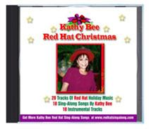 Kathy Bee Red Hat Christmas | Music | Karaoke