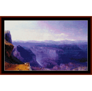 The Caucusus - Scenic cross stitch pattern by Cross Stitch Collectibles   Crafting   Cross-Stitch   Wall Hangings