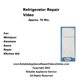 Whirlpool Brands Refrigerator Repair Video - Downloadable