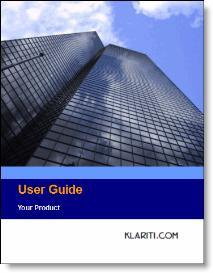 user guide templates