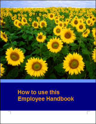 Construction employee handbook template image search results - Contractor how to find one ...
