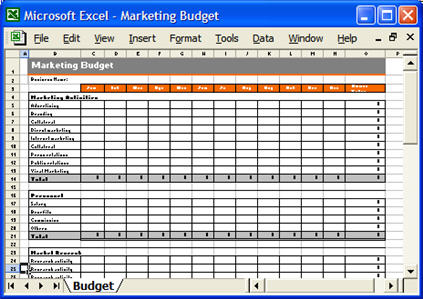 First Additional product image for - Marketing Plan Template