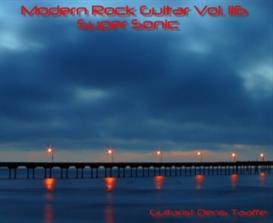 Modern rock Guitar vol.116 'superSonic' CD mp3's/zip | Music | Instrumental