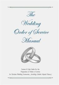 Wedding Order of Service Booklet Preparation Manual