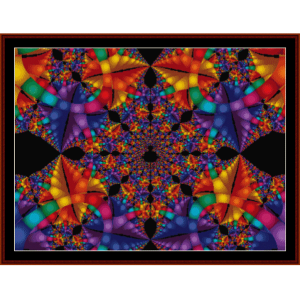 Fractal 188 cross stitch pattern by Cross Stitch Collectibles | Crafting | Cross-Stitch | Wall Hangings