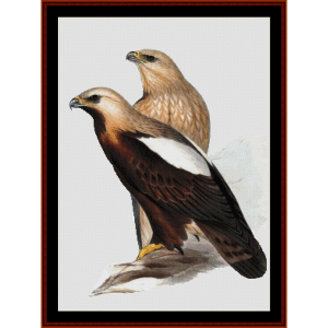 Imperial Eagle - Wildlife cross stitch pattern by Cross Stitch Collectibles | Crafting | Cross-Stitch | Wall Hangings