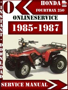 honda factory technical repair rh hondafactorymanuals blogspot com Honda Foreman 4x4 ATV 1987 honda fourtrax 350 repair manual