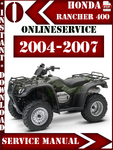 2004 honda rancher repair manual free owners manual u2022 rh wordworksbysea com 2004 honda rancher 400 repair manual 2004 honda rancher 400 service manual
