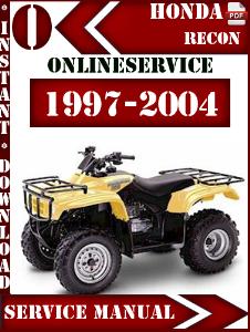 honda factory technical repair honda recon 1997 2004 service repair rh hondafactorymanuals blogspot com Honda Recon Parts Diagram Honda Recon Shifter