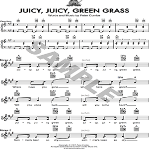 peter combe - juicy, juicy green grass