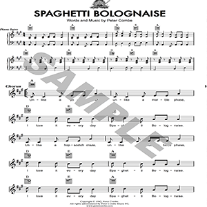 peter combe - spaghetti bolognaise