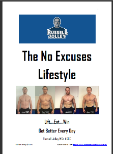 no excuses lifestyle programme (4 e-books and teamcc online)