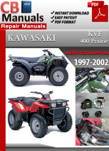 kawasaki kvf 400 prairie 1997-2002 service repair manual
