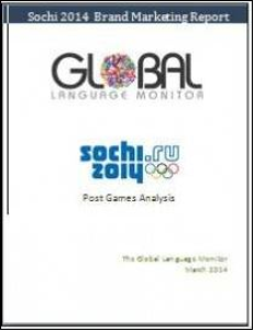 Sochi 2014  Marketing Post-Games Report | eBooks | Sports