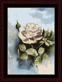 Rose - SuzyPal cross stitch pattern by Cross Stitch Collectibles | Crafting | Cross-Stitch | Other