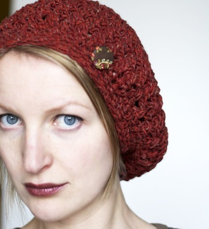 Slouchy Beret Crochet Pattern | Education at EDU Libs