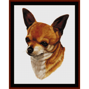 Chihuahua - Robert J. May cross stitch pattern by Cross Stitch Collectibles | Crafting | Cross-Stitch | Wall Hangings