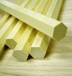 hexagon dowel rods